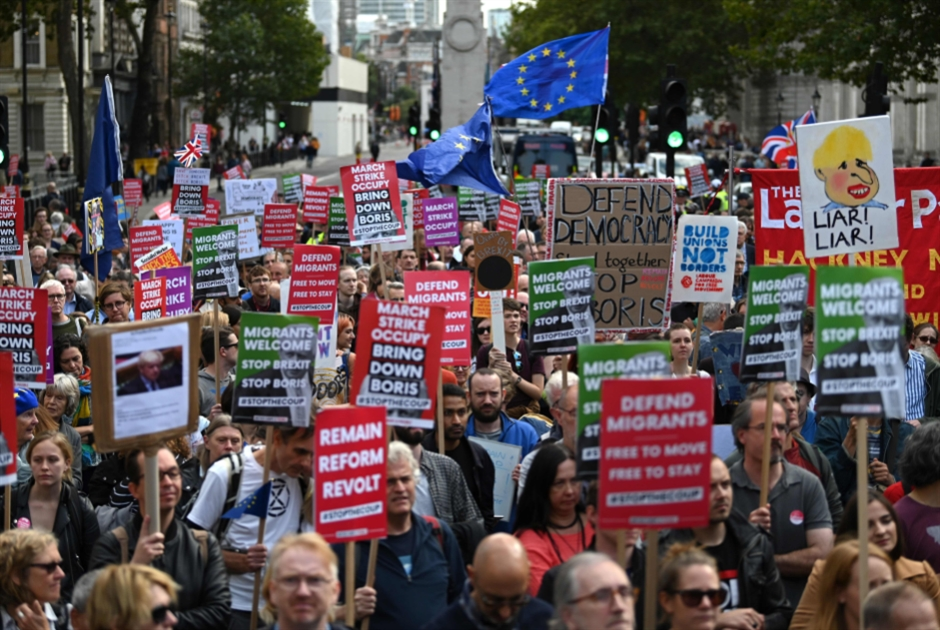 بريطانيا | جونسون أمام البرلمان اليوم: المعارضة موحّدة ضد إجراء انتخابات مبكرة!