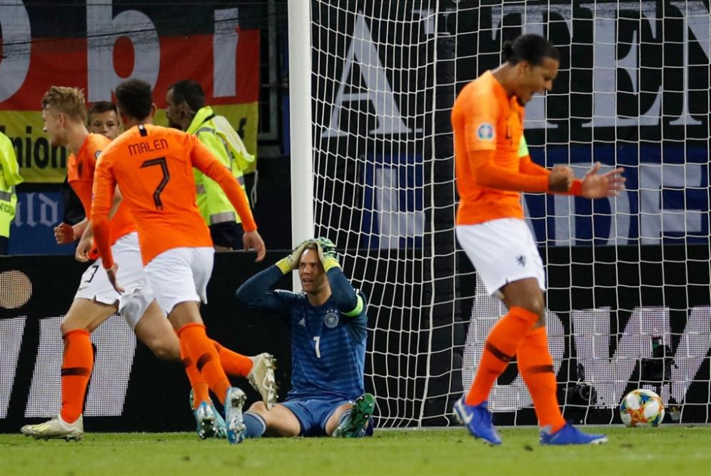 إيرلندا الشمالية X ألمانيا : مباراة الصدارة للمجموعة الثالثة