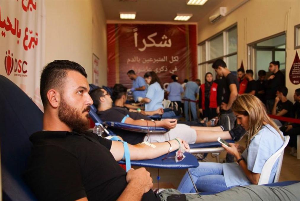 حملة «من هو الحسين؟» انقذ حياة... تبرّع بالدم