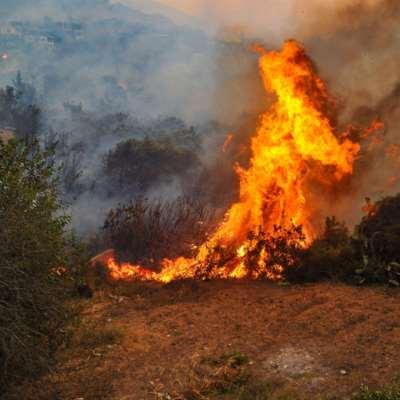 فرق الإطفاء تتمكّن من إخماد حرائق سوريا