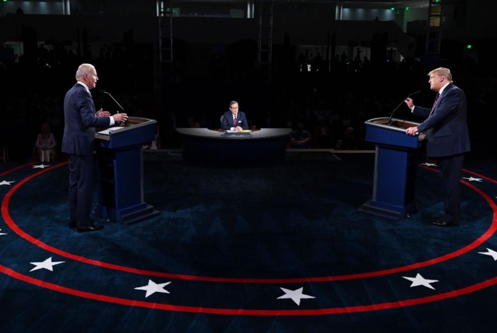 مناظرة ترامب - بايدن: عرضٌ قبيح   لازدراءٍ متبادل