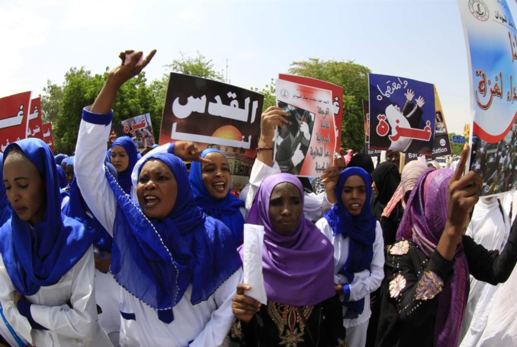 غليان في الخرطوم: نحو إنشاء جبهة داعمة   لفلسطين