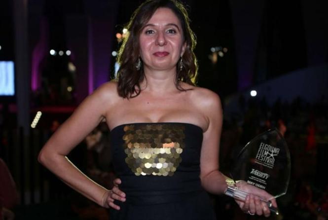 مي عودة تنال جائزة أفضل «موهبة عربية»