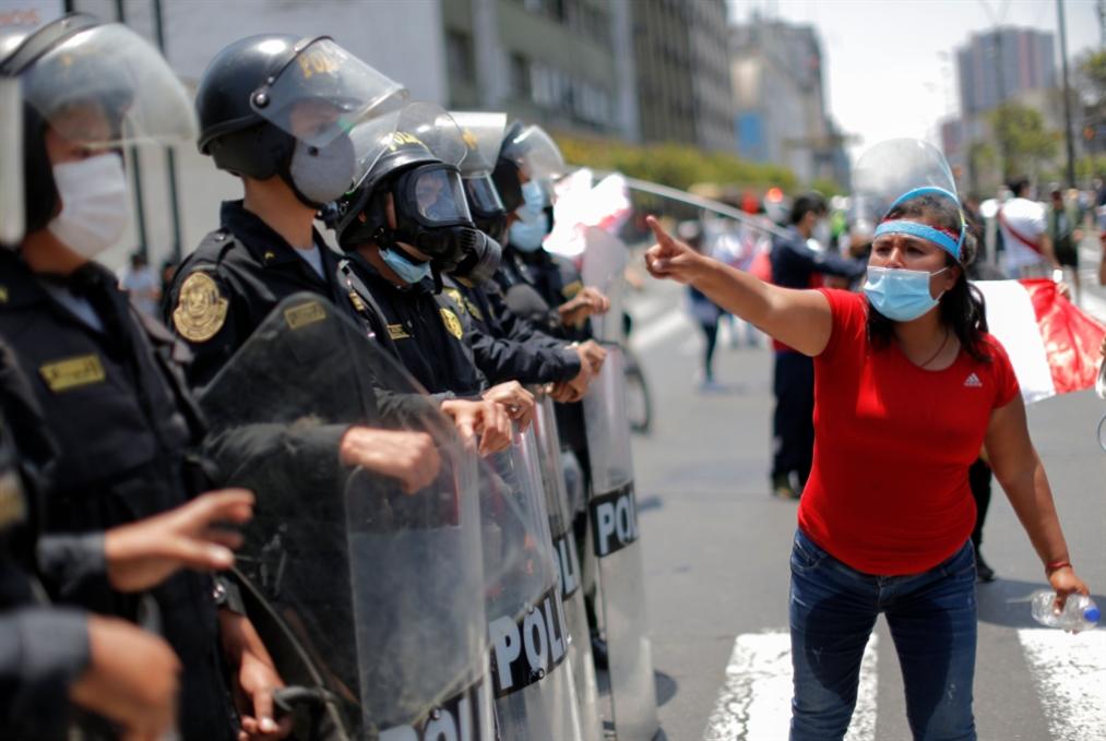 البيرو: سقوط رئيسين في أسبوع واحد