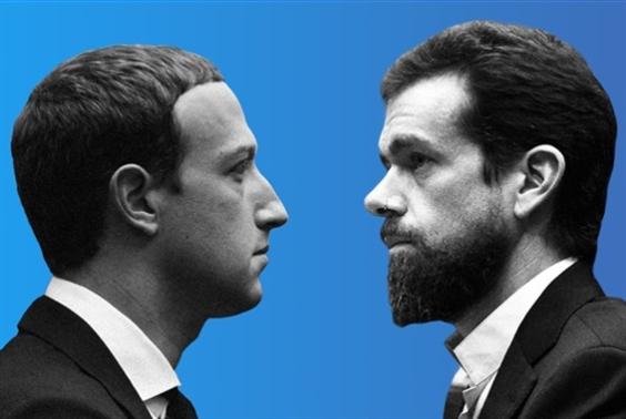 رئيسا فيسبوك وتويتر أمام مجلس الشيوخ