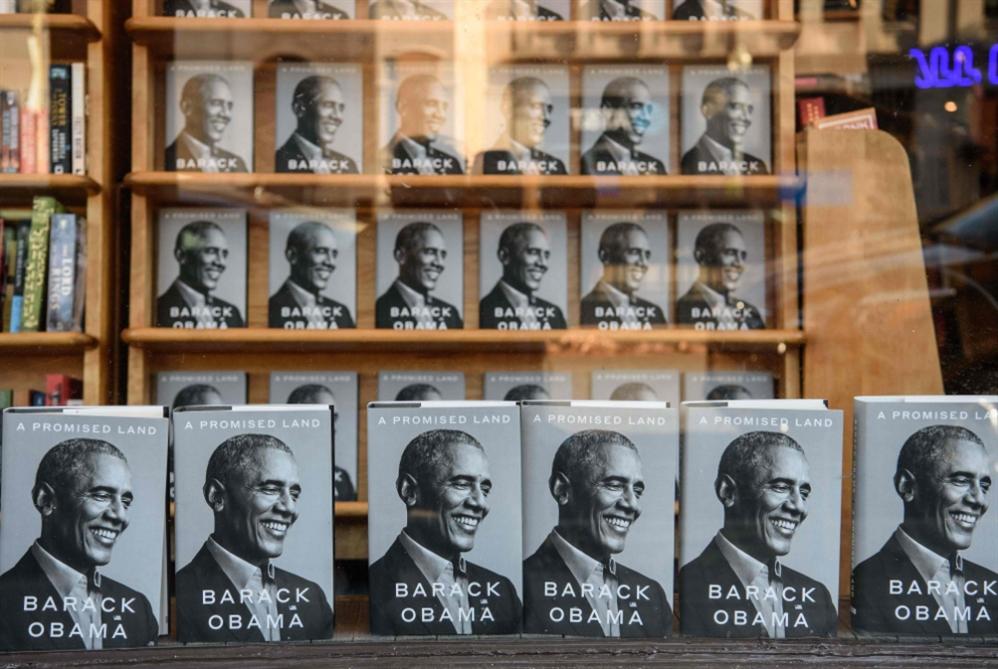 """""""أرض الميعاد"""": ذاكرة أوباما في كتاب"""