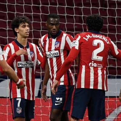 أتلتيكو مدريد X برشلونة