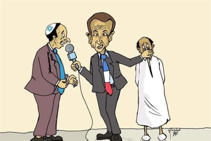 فرنسا «تحظِّر» كاريكاتوريست ردَّ على ماكرون!