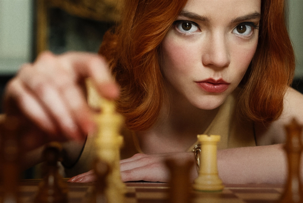 The Queen's Gambit... رقم قياسي على «نتفليكس»