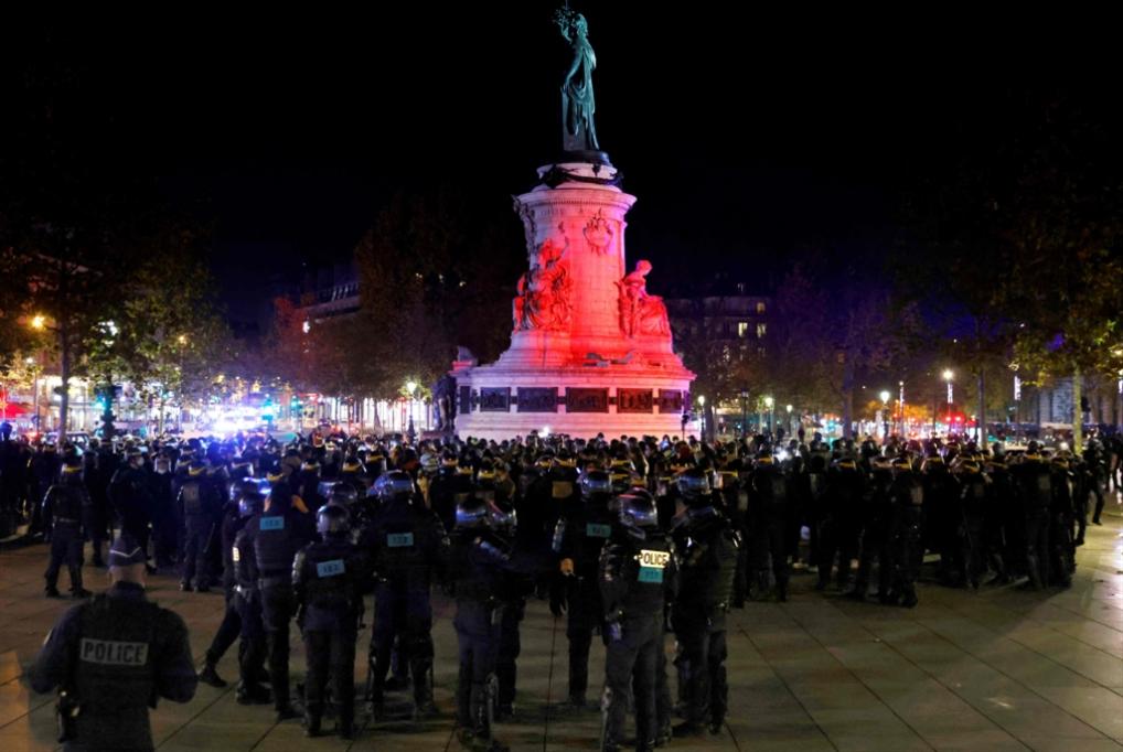 العنف البوليسي مقونَن: فرنسا تخشى «الأمن الشامل»