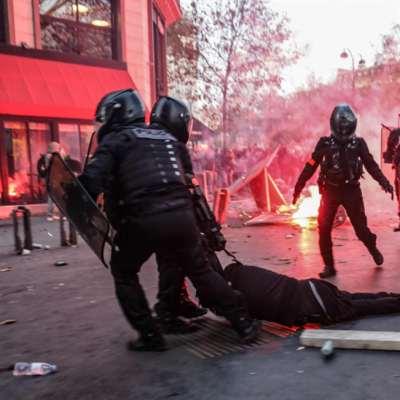 فرنسا | تظاهرات ضدّ قانون «الأمن الشامل»: لا لتحصين عنف الشرطة