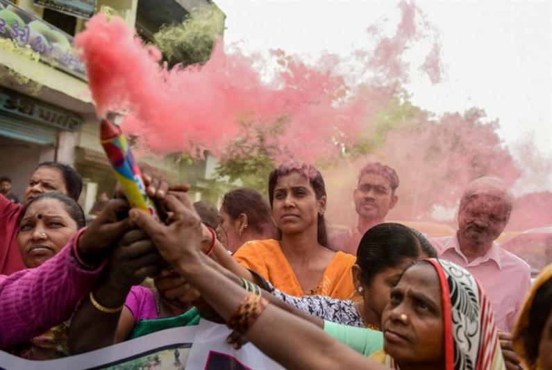 حالة اغتصاب كل 15 دقيقة في الهند