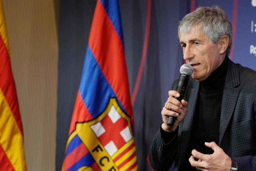 مدرب برشلونة: قبلت العرض بخمس دقائق