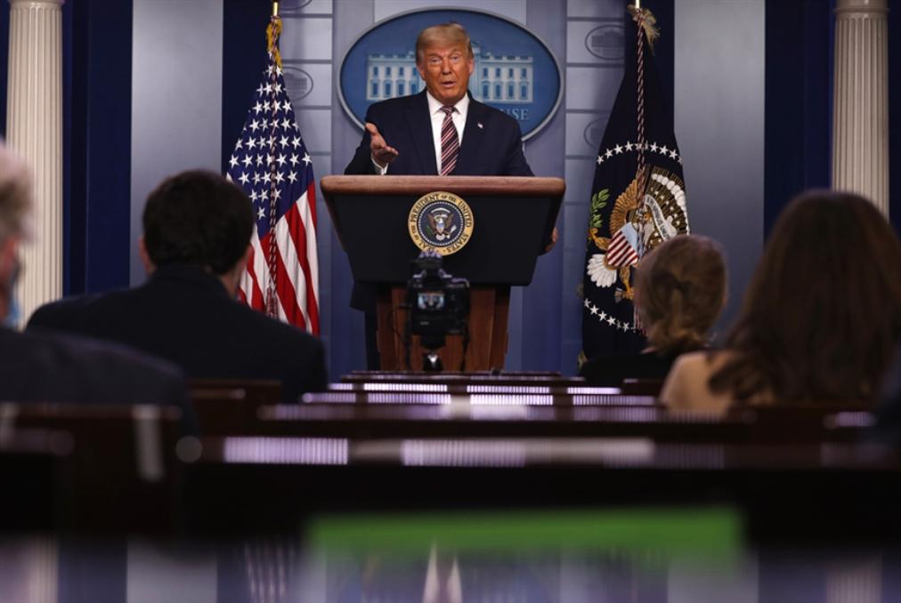 تلفزيونات أميركية تقطع كلمة ترامب: سيل من «الأكاذيب»!