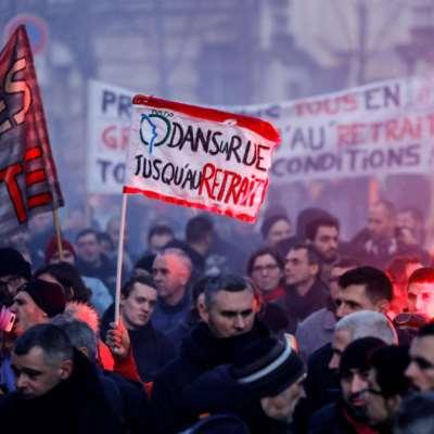 فرنسا | النقابات تراهن على توسيع الإضراب خارج قطاع النقل