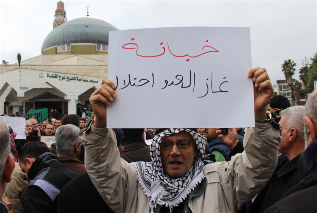 الأردن | مشروع قانون لرفض الغاز الإسرائيلي: هل تعرقله الحكومة؟