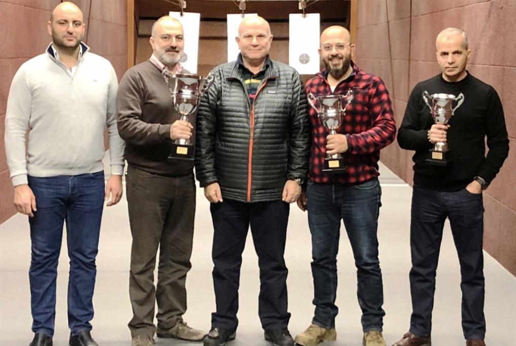 بطولة جبل لبنان في رماية المسدس