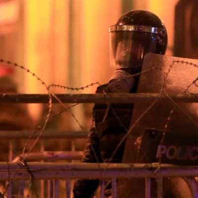 السلطة تطفئ عيون المتظاهرين