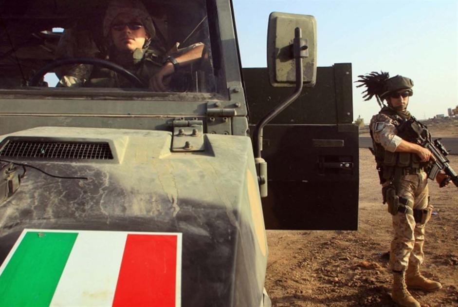لقاء عراقي ـــ إيطالي: استمرار تدريب القوات العراقية