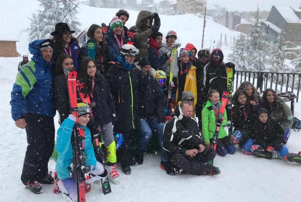 المرحلة الأولى من بطولة لبنان للتزلّج الألبي