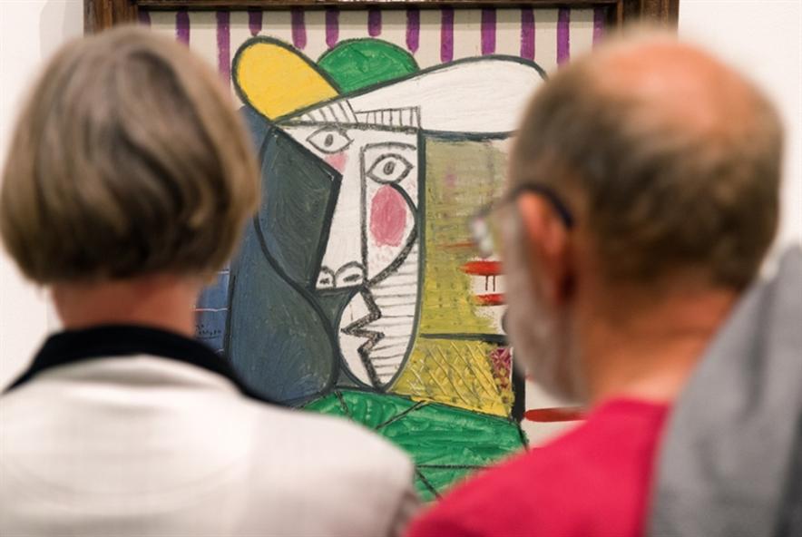 بريطانيا: توجيه اتهام لرجل حاول إتلاف لوحة لبيكاسو