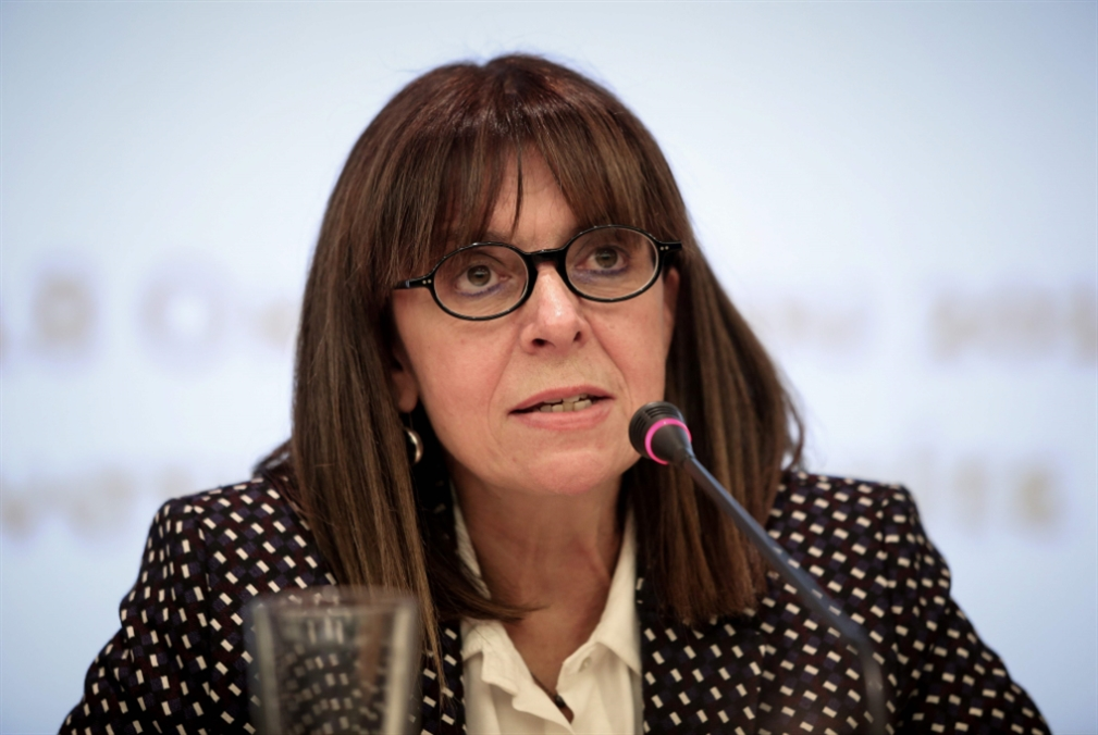 اليونان تنتخب القاضية ساكيلاروبولو أوّل رئيسة للبلاد