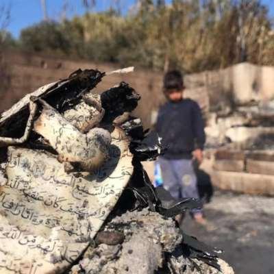 إحراق مخيّم المنية: المهاجمون يشرّدون مئات النازحين