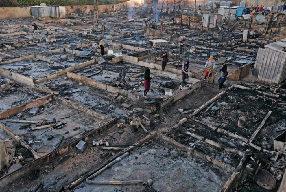 مخيم المنية: العراء الأخير