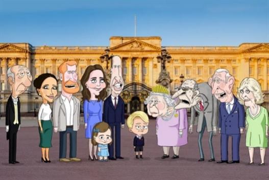 العائلة المالكة البريطانية... أنيمايشن على HBO Max