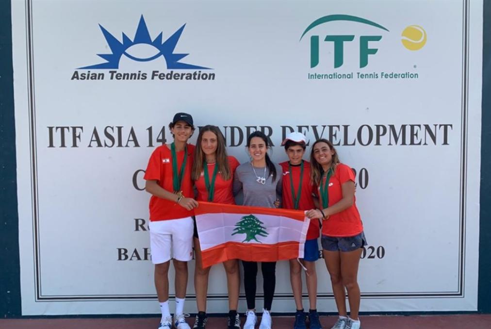 لبنان يحرز ألقاب الدورة الثانية لبطولة غرب ووسط آسيا