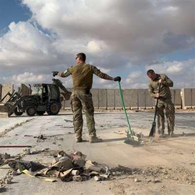 البنتاغون: 34 إصابة ارتجاج في الدماغ لعسكريين في «عين الأسد»