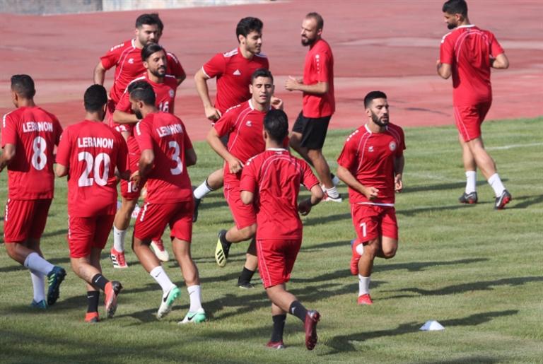 المرحلة الثانية من تحضيرات منتخب لبنان تنطلق الاثنين