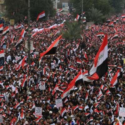 مليونية بغداد: أميركا... برّا برّا