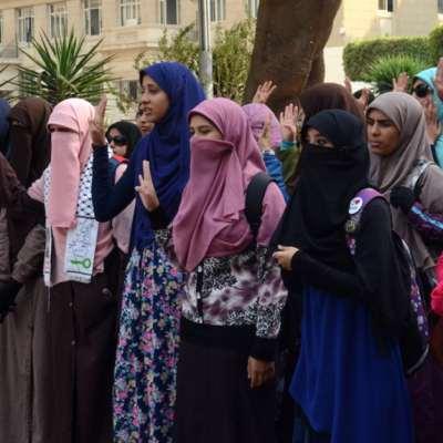النقاب محظور في جامعة القاهرة... بحكم قضائي
