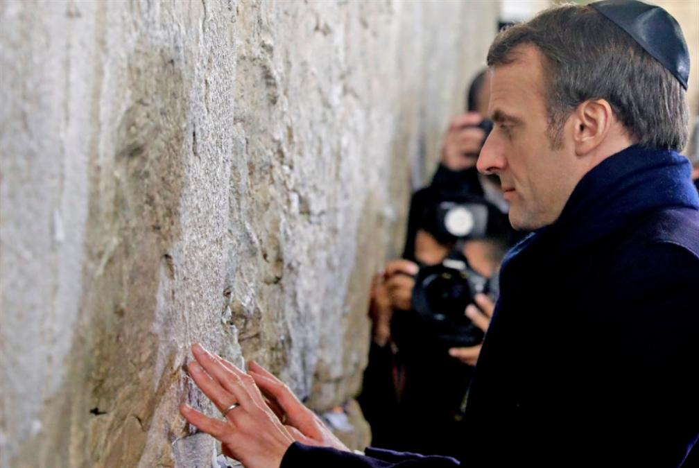 ماكرون يدشّن «حواراً استراتيجياً» مع إسرائيل: فرنسا أكثر انحيازاً