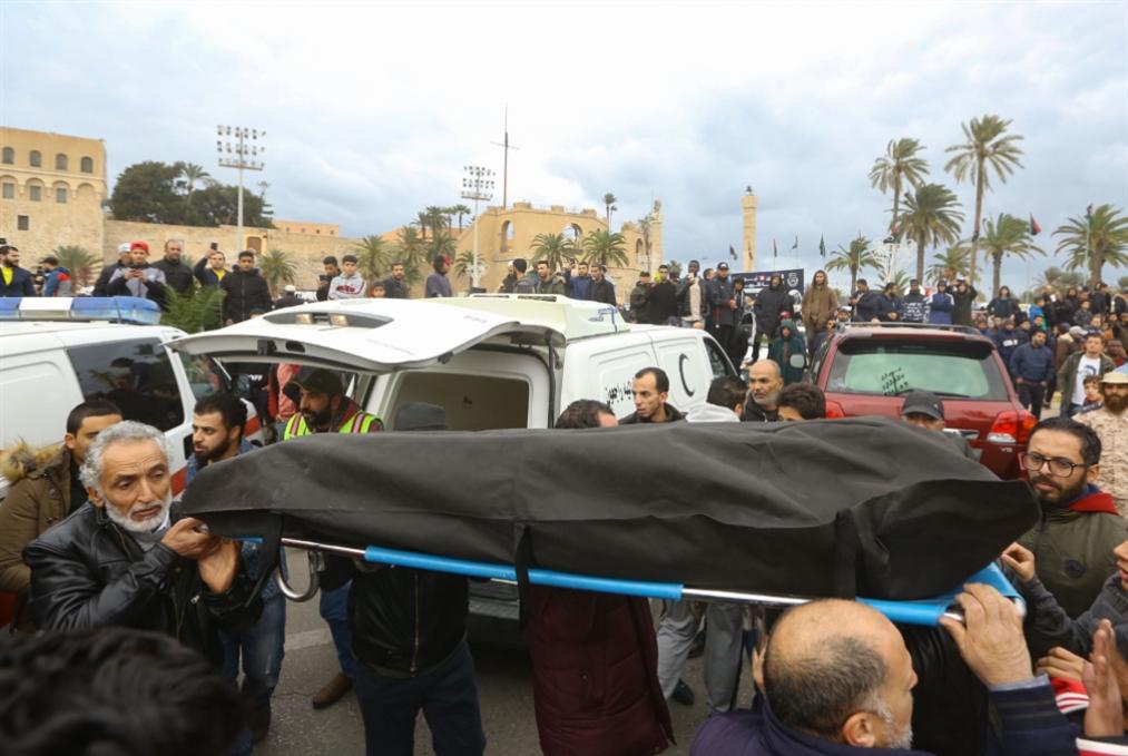 غارة طرابلس تؤجّج النزاع: بدء إرسال قوات تركية