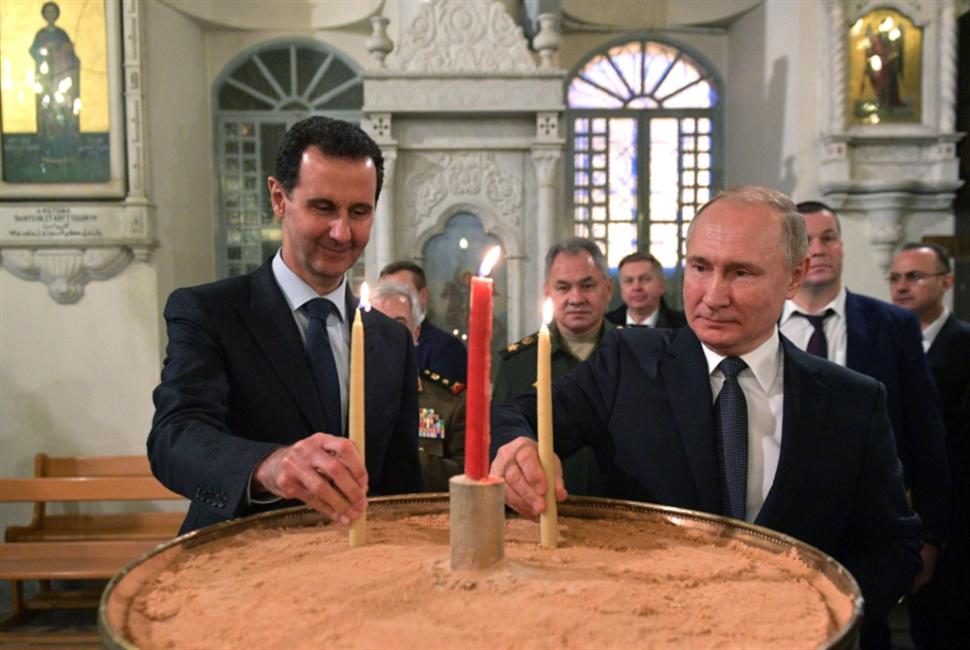 زيارة خاطفة قبيل لقائه إردوغان: بوتين في ضيافة الأسد