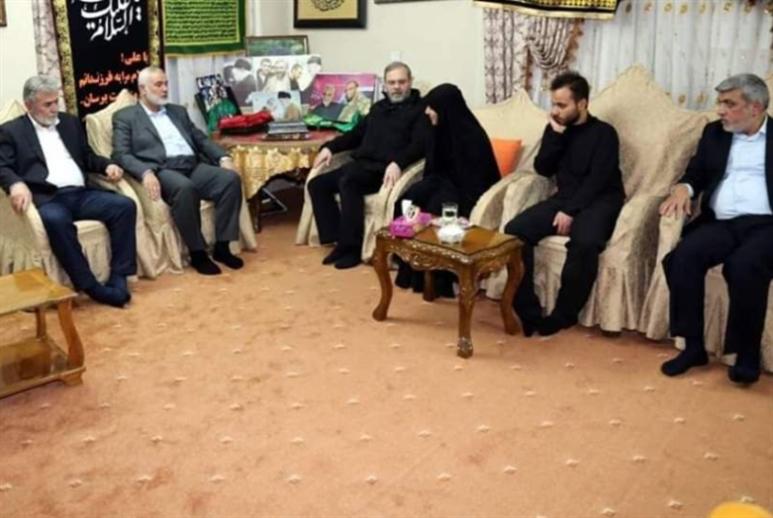 قاآني يلتقي قادة المقاومة الفلسطينية: فضل الحاج قاسم لا يُنتسى