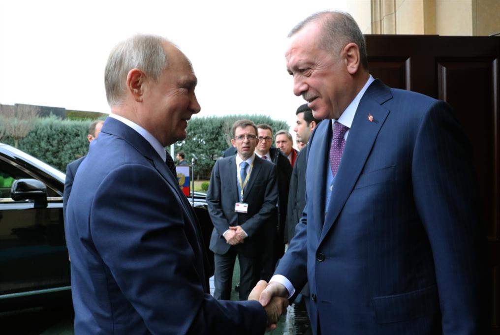 قمة بوتين - أردوغان: أنابيب الغاز والساحات المشتركة