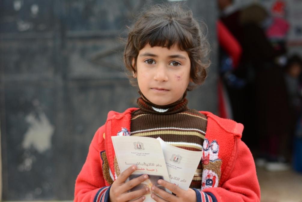 «حبة حلب» تحفر وجوه أطفال دير الزور!