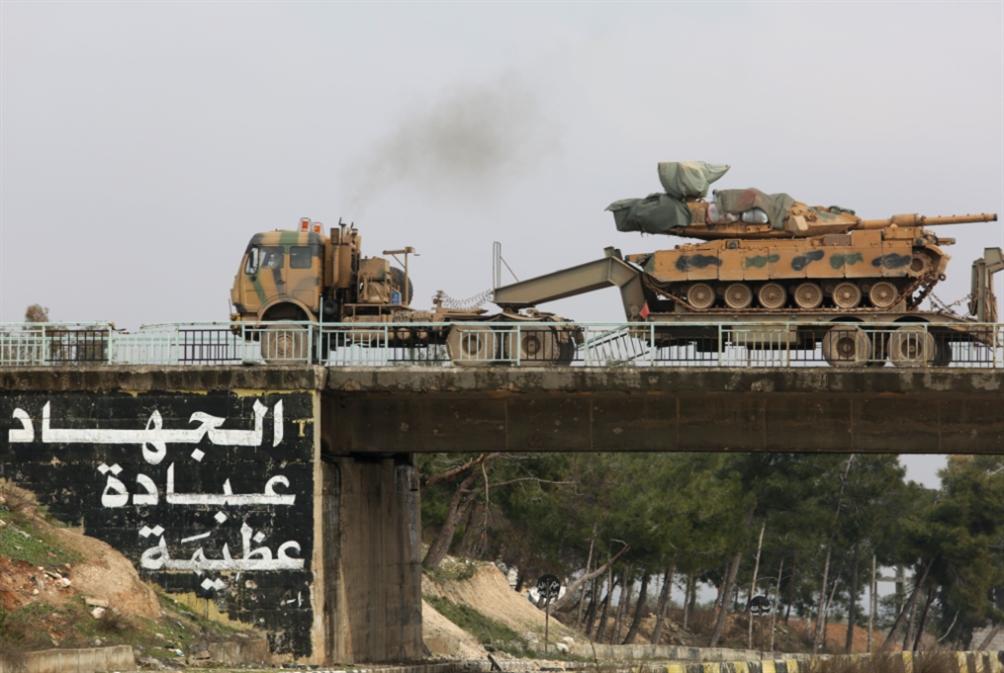 طريق حلب ــ دمشق «آمن»... إلا «حاجز» معرحطاط التركي