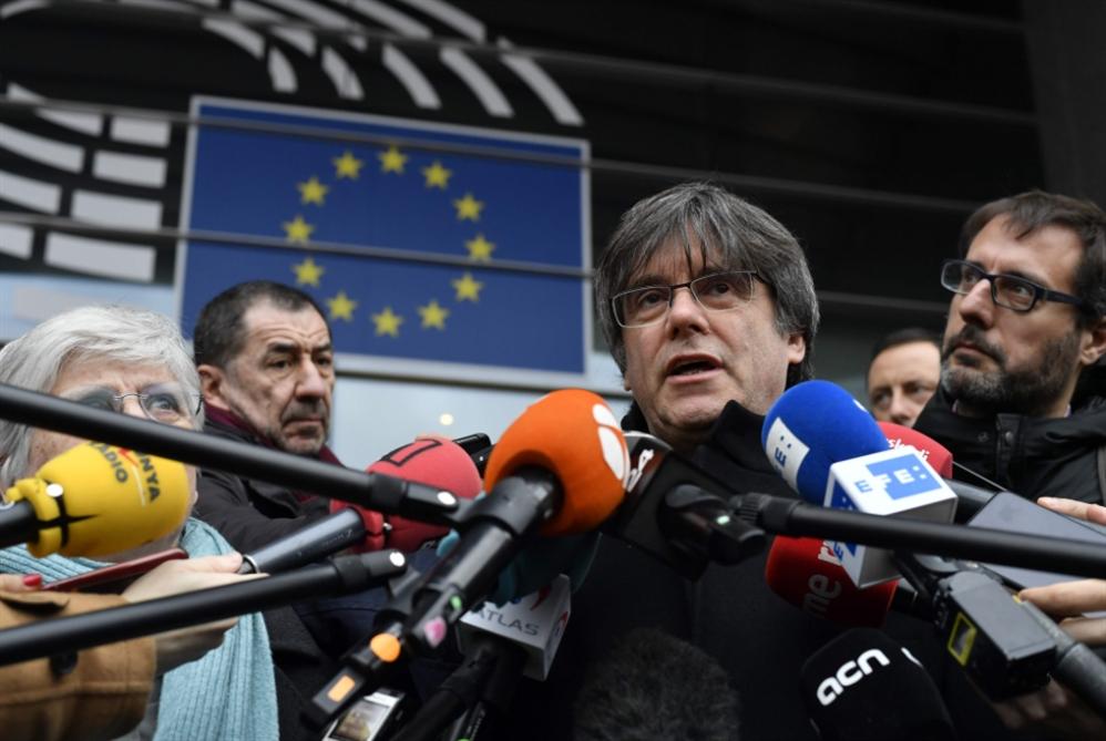 بلجيكا ترفض تسليم مسؤولين كتالونيين إلى إسبانيا