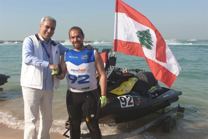 لبنان يحتل المركز الـ 15 عالمياً في «الجت سكي»