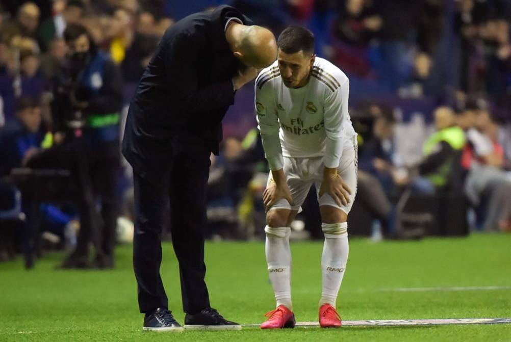 ريال مدريد يخسر هازارد مجدداً وبارتوميو يرفض مطالب جماهير برشلونة