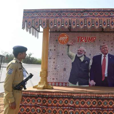 ترامب في الهند: الصين وإيران تنافسان الملـفات التجارية