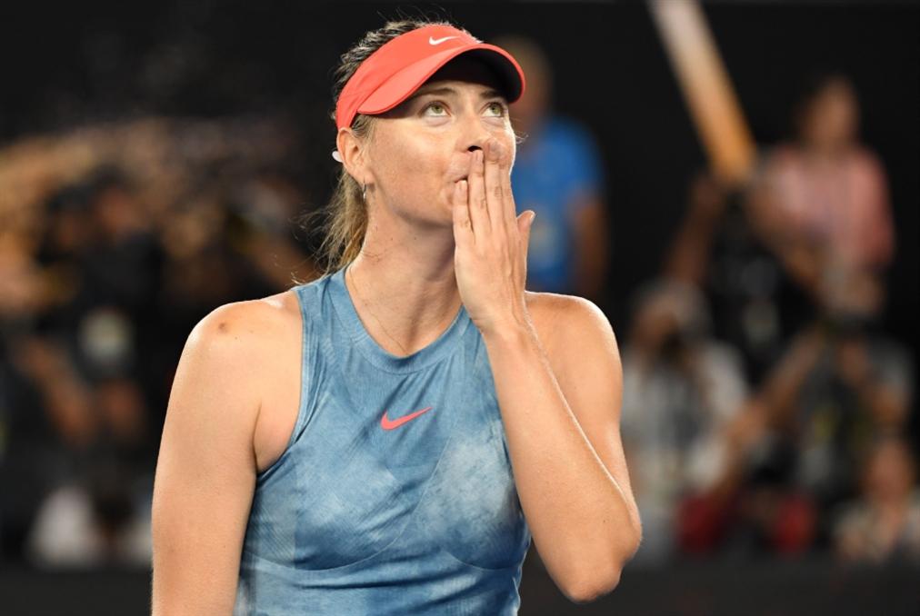 شارابوفا تودّع كرة المضرب