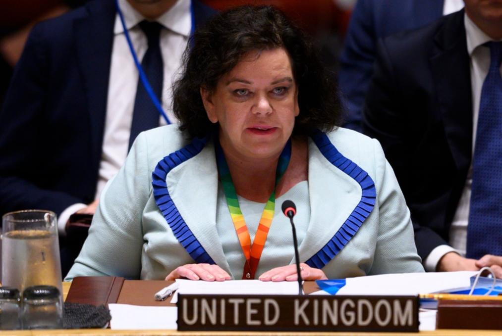بيرس سفيرة بريطانيا لدى واشنطن بعد الأمم المتحدة