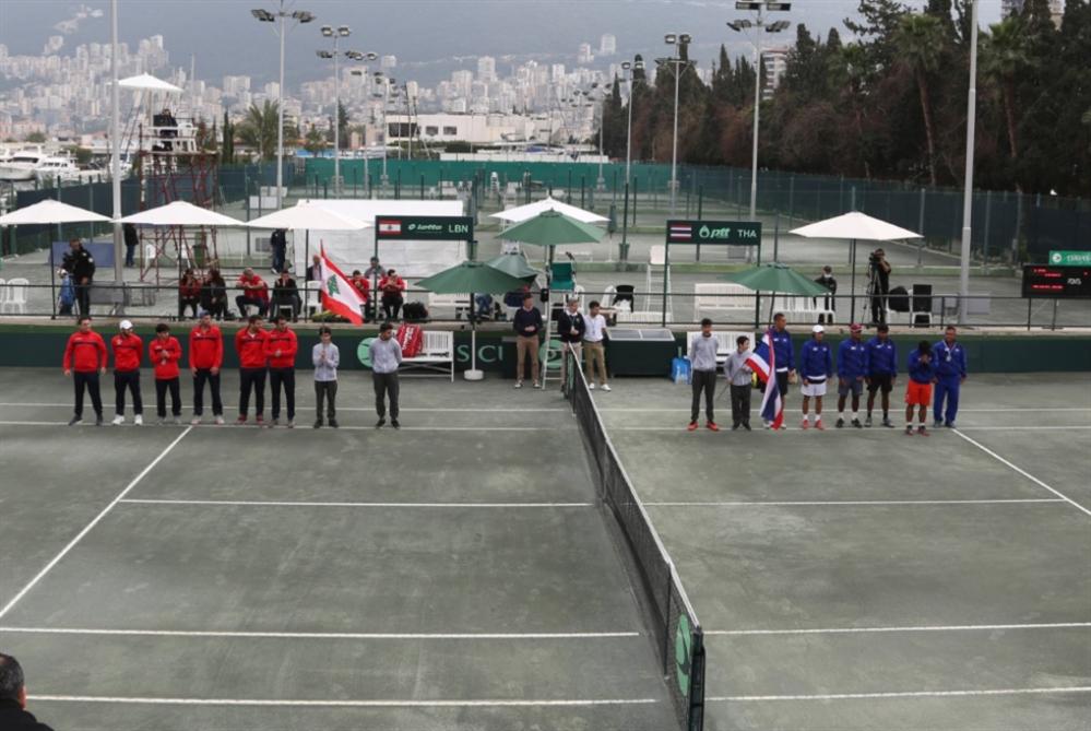 لبنان يتصدر التصنيف العربي في التنس
