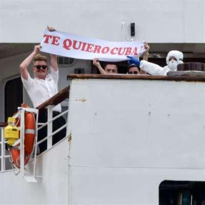 كوبا ليست اليابان ولا الولايات المتحدة: هافانا تستقبل سفينة بريطانية «موبوءة»