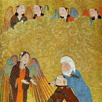 النبي إبراهيم والنجوم الثابتة